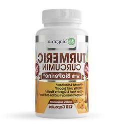 Turmeric Curcumin Supplement with BioPerine  - 1000mg - 120