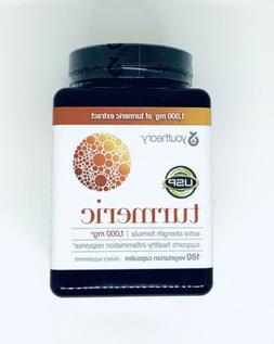turmeric extra strength 1000mg 180 capsules