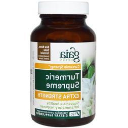 Gaia Herbs Turmeric Supreme Extra Strength 120 Vege Liquid P