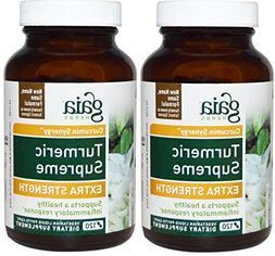 Gaia Herbs Turmeric Supreme Extra Strength 120 ct