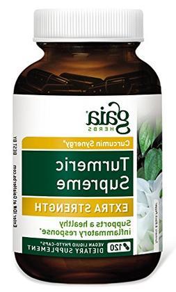 Gaia Herbs Turmeric Supreme Extra Strength, Vegan Liquid Cap