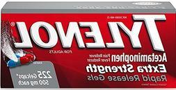 TYLENOL Acetaminophen Rapid Release Gelcaps 500 mg 225 ea