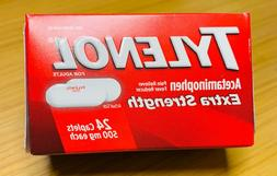 Tylenol * Extra Strength * Fever Reducer & Pain Reliever * 5
