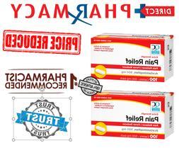 TYLENOL EXTRA-STRENGTH Gen Acetaminophen 500 mg Rapid Releas