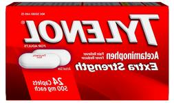 Tylenol Extra Strength Pain Reliever and Fever Reducer Caple