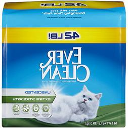 unscented extra strength clumping cat litter