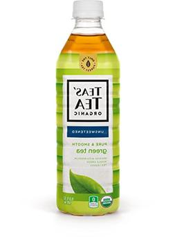 Teas' Tea Unsweetened Pure Green Tea 16.9 Ounce  Organic Zer