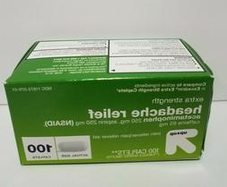 Up & Up Extra Strength Headache Pain Relief 100 Caplets Like