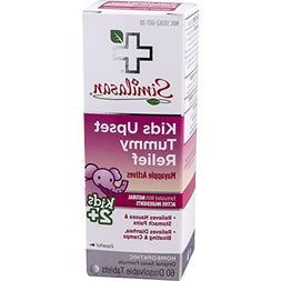 Similasan Kids Upset Tummy Relief Tablets, 60 ct