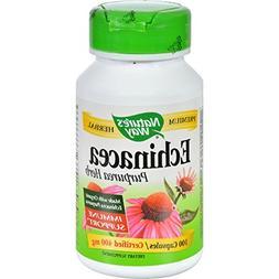 Natures Way Echinacea Herb Org