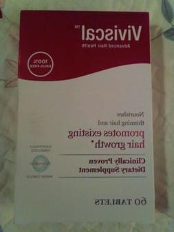 Viviscal Women Extra Strength Hair Growth Program ~ NIB ~ 60