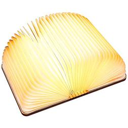 Led Wooden Folding Led Book Shape Lamp, Led Book Light Anlis