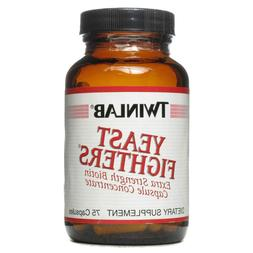 Twinlab YEAST FIGHTERS Extra Strength Biotin 75 caps CANDIDA