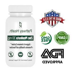 Zinc Extra Strength 30mg Immune Support Zinc Picolinate Supp